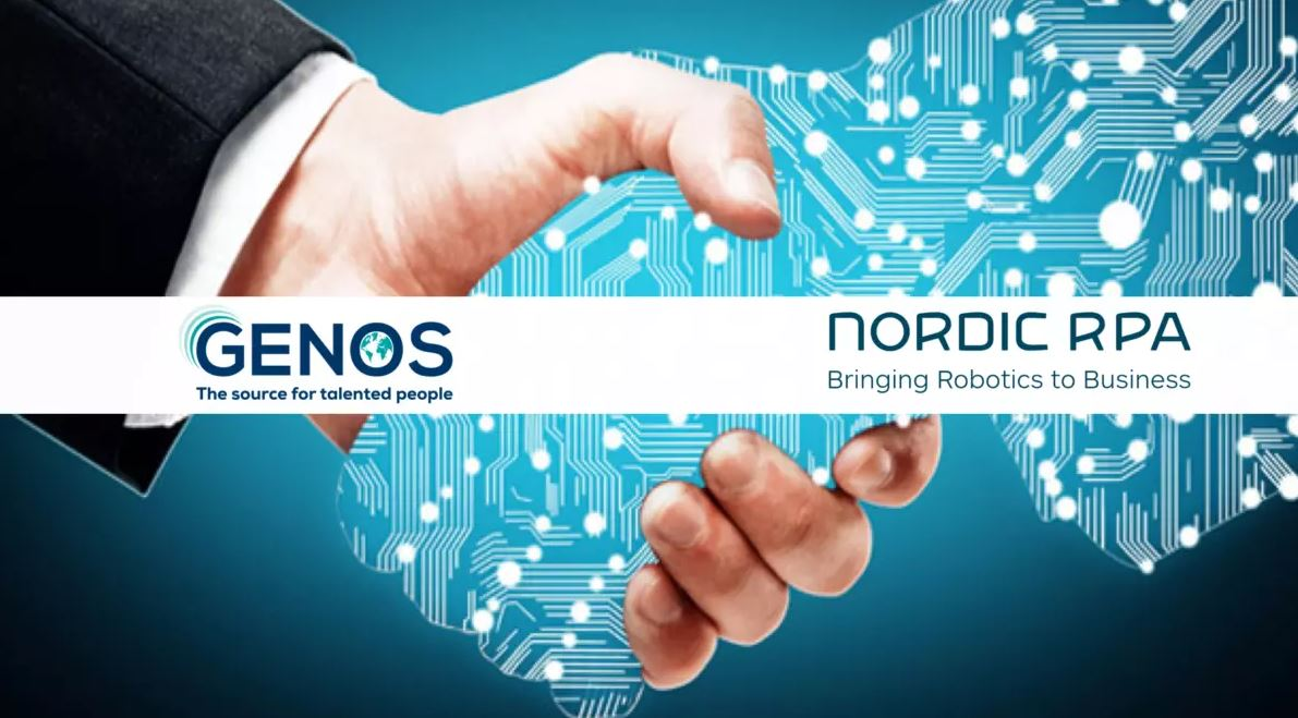 Nordic RPA and Genos kickoff the collaboration in Bucharest